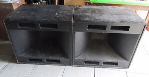NORTHWEST 8015 SOUND ELECTRIC SPEAKER BOXES 30x24x30inches