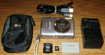 Canon PowerShot SD800 IS 7.1 MP 3.8x Optical Zoom UF/GC Silver Guarantee Bundled