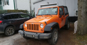 2012 Jeep Wrangler Sport prix nego/price negotiable