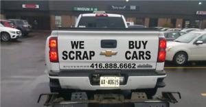 TOP DOLLAR SCRAP JUNK CAR. SELL US ANY CAR AND WE PAY TOP $