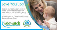 Recruiting Childcare Providers  South Simcoe $500 Welcome Bonus