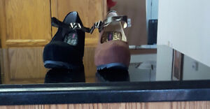 dollhouse wedge heel shoes