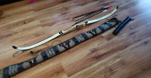 Victory Recurve Bow and Accessories