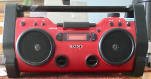 RADIO HEAVY DUTY SONNY PORTABLE BOOMBOX