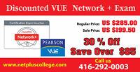 Discounted VUE Certification Exam Voucher Call us 416-292-0003