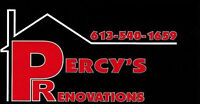 Percy's Renovations is NOW HIRING