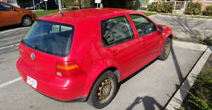 2003 VW Golf Hatchback