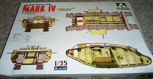 "Takom 1/35 WWI Heavy Battle Tank Mark IV ""Male"""