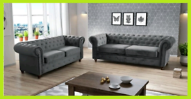 💞 Imperial Chesterfield 3 and 2 seater sofa sale 💞