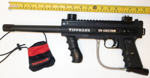 Tippmann 98 Custom Platinum Series Marker with ACT - like new -