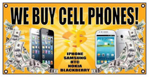 Buying all Phones & Tablets - New, Used & Broken - Top Dollar