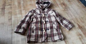 super cute fall coat size 4t