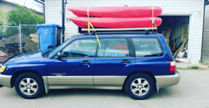 JUST FIXED!! 2001 Subaru Forester Blue Ridge Edition