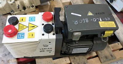 Varian Rotary Vane Vacuum Pump Ds102 949-9315 Jch