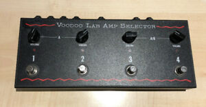 Voodoo Lab Amp Selector Switch Pedal Pédale