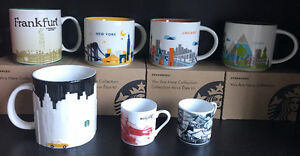 STARBUCKS You Are Here Collection Mugs