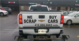 200-1000 ♻SCRAP JUNK CAR REMOVAL MISSISSAUGA TOP CASH FOR CARS