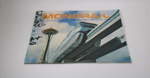Alweg Monorail Booklet World's Fair Seattle Space Needle