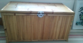 Large storage chest/ottoman /blanket box