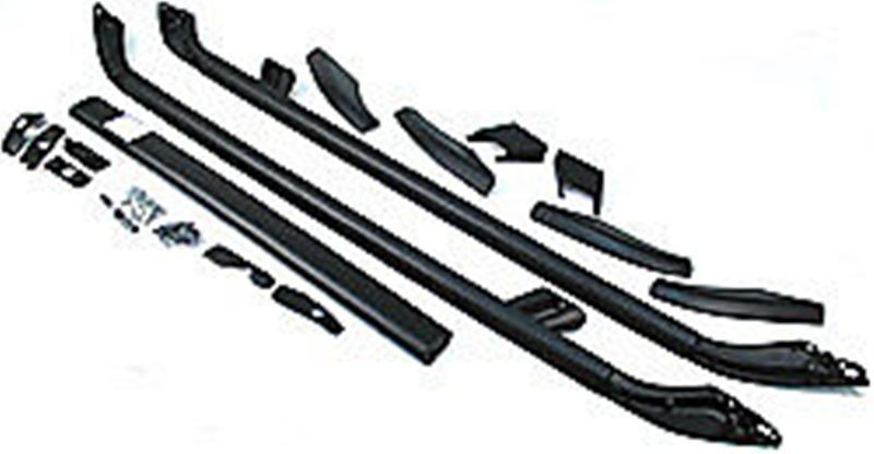 land rover lr2 roof rack side rail kit lr007220 genuine