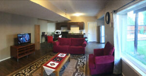 Walkout Pet friendly Furnished Basement for rent in Tuscany