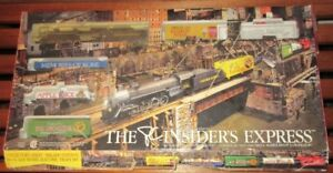 PC Presidents Choice Insider Express HO train set