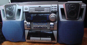 JVC Compact Stereo System Kitchener / Waterloo Kitchener Area image 1