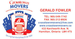 Crosstown Movers - Reliable and Affordable Moving Company!