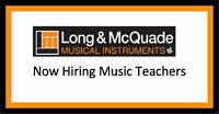 Now Hiring Music Teachers - Guitar, Piano,Vocals & Orchestral