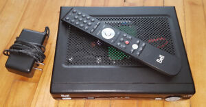 Bell VIP2262 PVR with remote and power adaptor $60