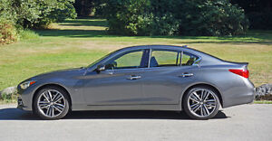 2015 Infiniti Q50 3.7 Sedan, free maintenance & a fantastic deal