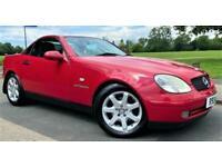 1998 Mercedes-Benz SLK SLK 230K 2dr Auto CONVERTIBLE Petrol Automatic