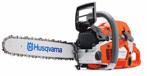 Husqvarna XP FREE Bar and Chain Promo + $50 Trade in