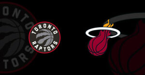 Raptors vs Miami Heat- April 7 (Section 119/109/117) 2-4 Tickets