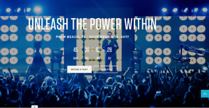 1 VIP ticket - UNLEASH THE POWER WITHIN - TONY ROBBINS