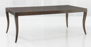 Paris Dining Table by  Kravet, finished in Walnut