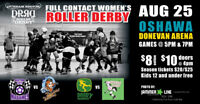 Durham Region Roller Derby ‎DRRD'y Double Header!