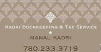 Affordable bookkeeping and tax service