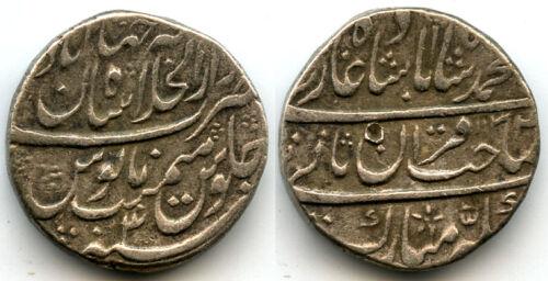 Silver rupee, Emperor Mohamed Shah (1719-1748), RY 3, Akbarabad, Mughal Empire