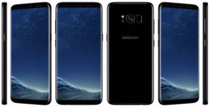 Samsung Galaxy s8+ 64GB Midnight Black - Near New