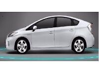 PCO CAR HIRE/RENT/UBER/TOYOTA PRIUS CARS £120p/w