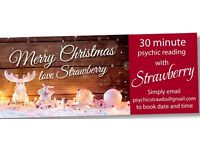 Gift Vouchers AVAILABLE NOW for Christmas! 30 min and 50 min psychic readings