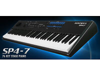 Brand NEW ! Kurzweil SP4-7 , 76-Key Semi Weighted Stage Piano with 128 Presets + 64 Setups + 64 User