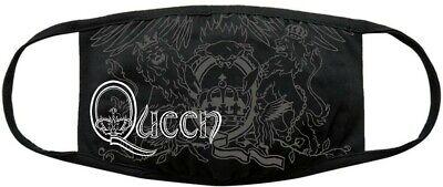 Queen Maske Mundschutz Zungen Crest Logo Mundbedeckung NEU retro logo mask