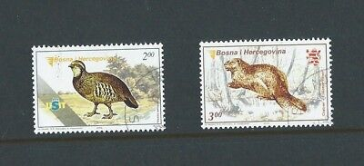 Bosnia & Herzegovina 2005 CTO Fauna sg 812/3