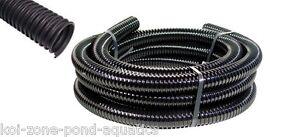 Black corrugated flexible pond hose ebay for Koi zone pond aquatics