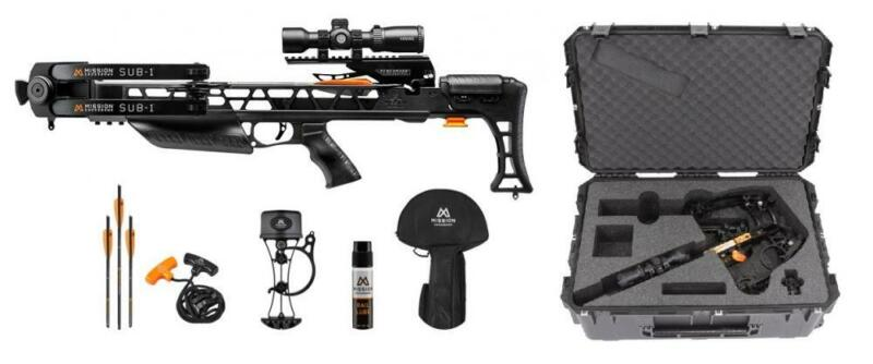 Mission Sub-1 Crossbow with PRO Package in Black w/ SKB Hard Case NEW!!!