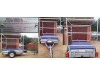 TRIPLE STACKER CANOE/KAYAK/DINGHY BOX TRAILER