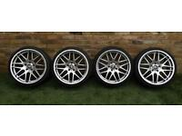 "BMW M-Sport 19"" alloys and tyres - full set"