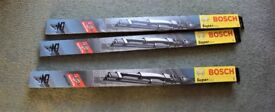 Bosch Wipers S22 (Spoiler) and 22 (other side) - surplus
